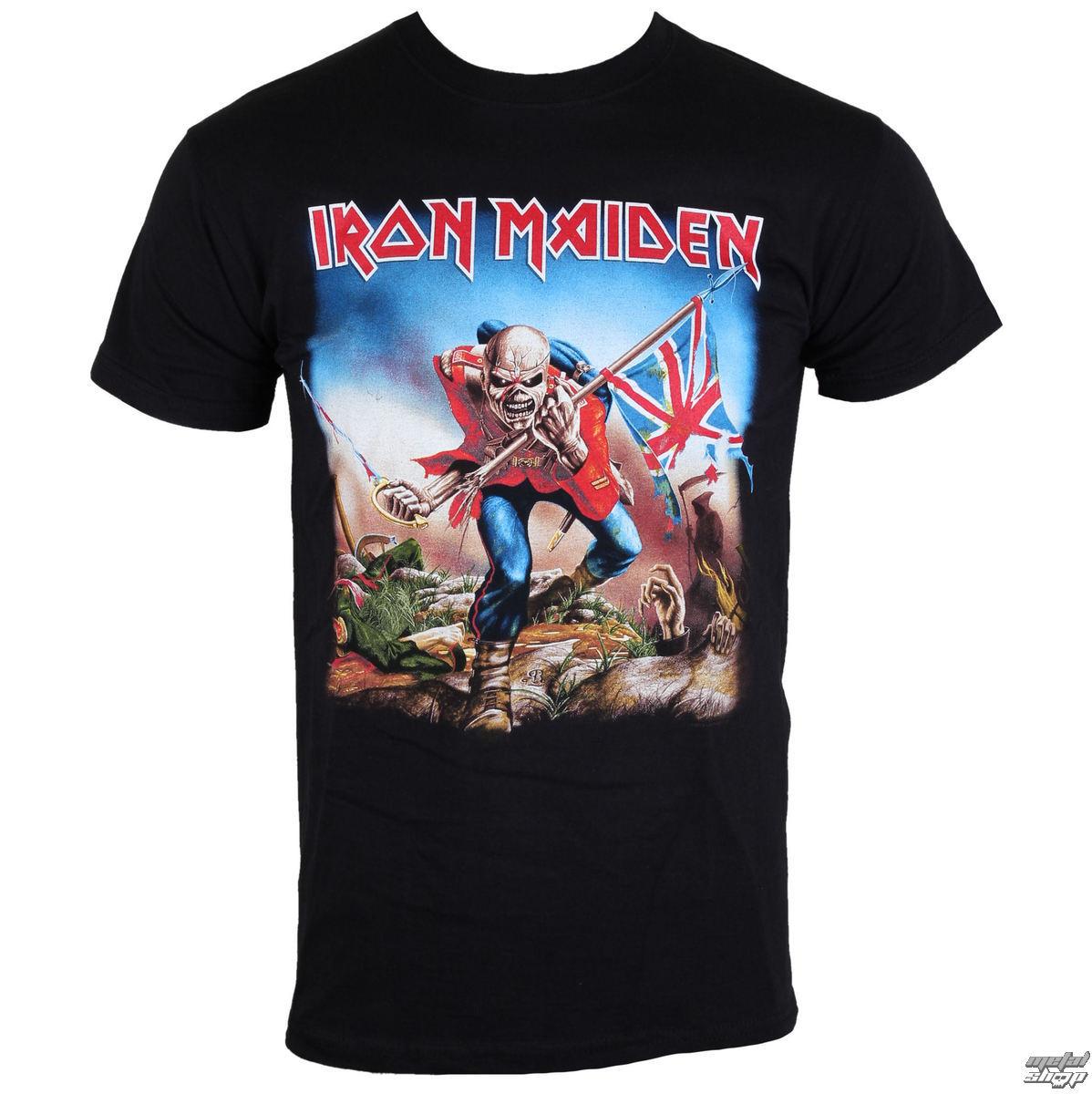 tričko pánske Iron Maiden - The Trooper - IMTEE03MB - ROCK OFF