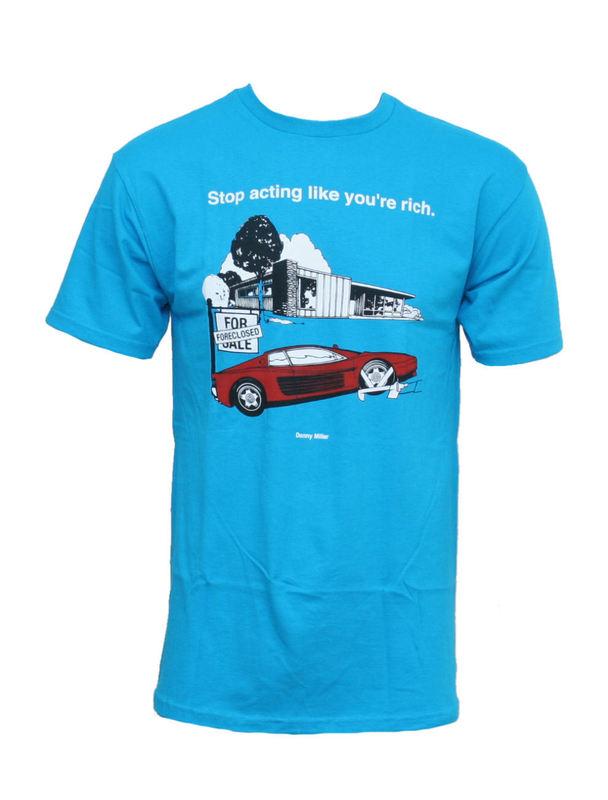 tričko pánske VANS - M Vans X Donny Mille - TURQUOISE