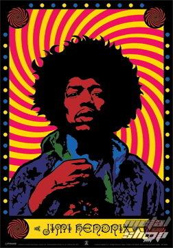 obraz 3D Jimi Hendrix (Psychedelic) - PYRAMID POSTERS - PPL70084