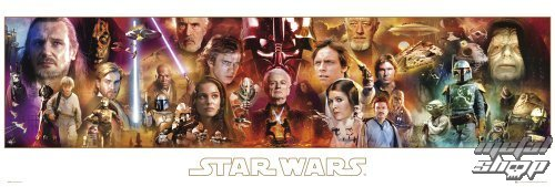 plagát Star Wars - Complete - GB posters - DP0284