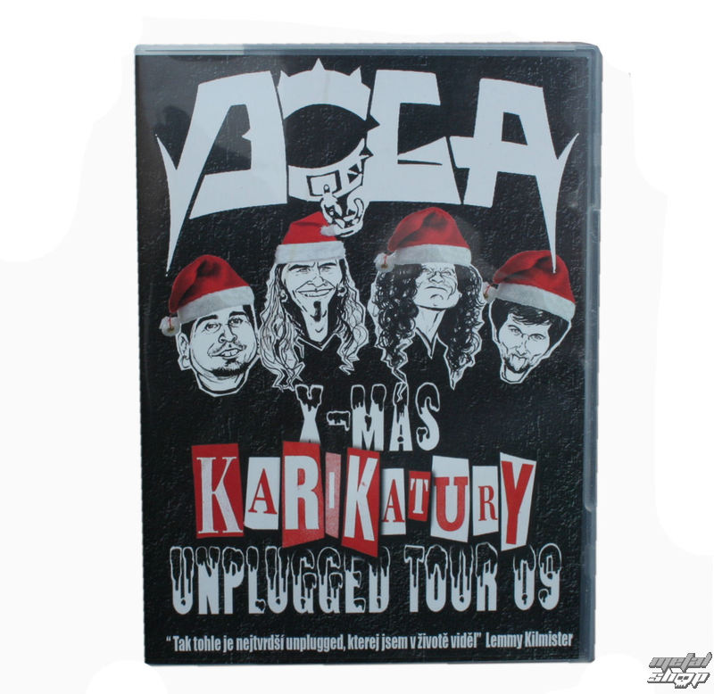 DVD Doga - X-MAS Unplugged Tour 2009 - KARIKATURY
