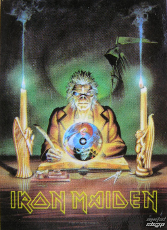 vlajka Iron Maiden - 7th Son Of A 7th Son - HFL0694