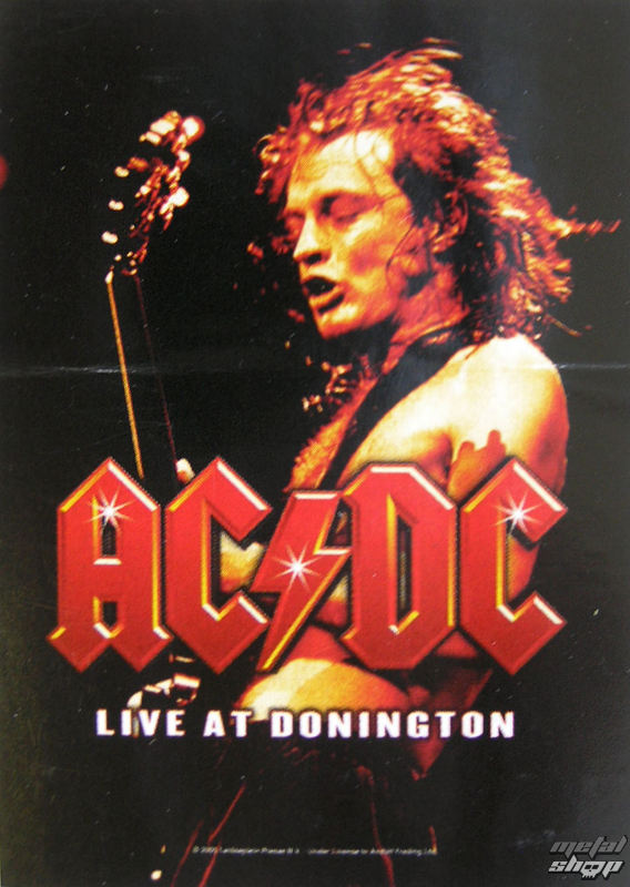 vlajka AC/DC - Live At Donington - HFL0695