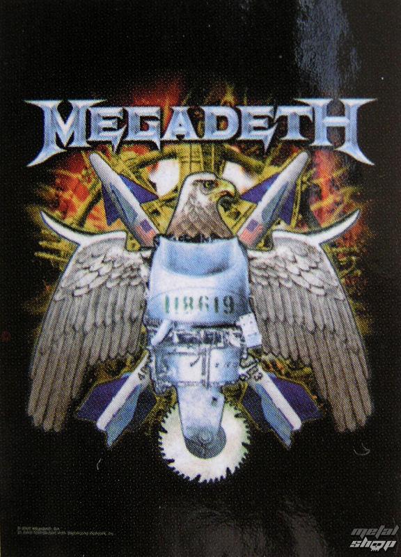 vlajka Megadeth - Eagle - HFL0706