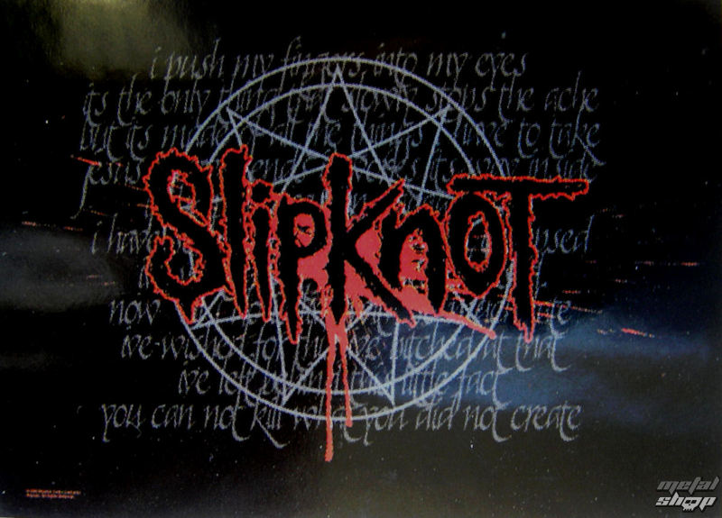 vlajka Slipknot - Splattered - HFL0735