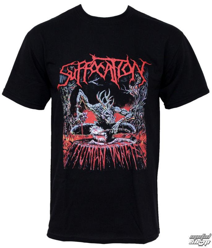 """tričko pánske Suffocation """"Human Waste"""" - RAZAMATAZ"""