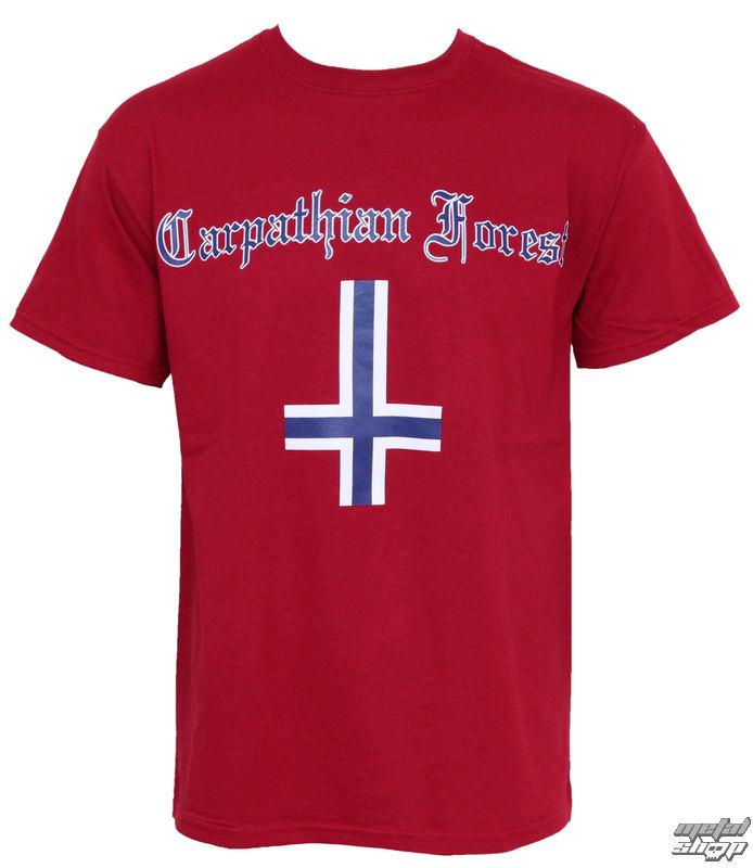 """tričko pánske Carpathian Forest """"Norway"""" - RAZAMATAZ"""