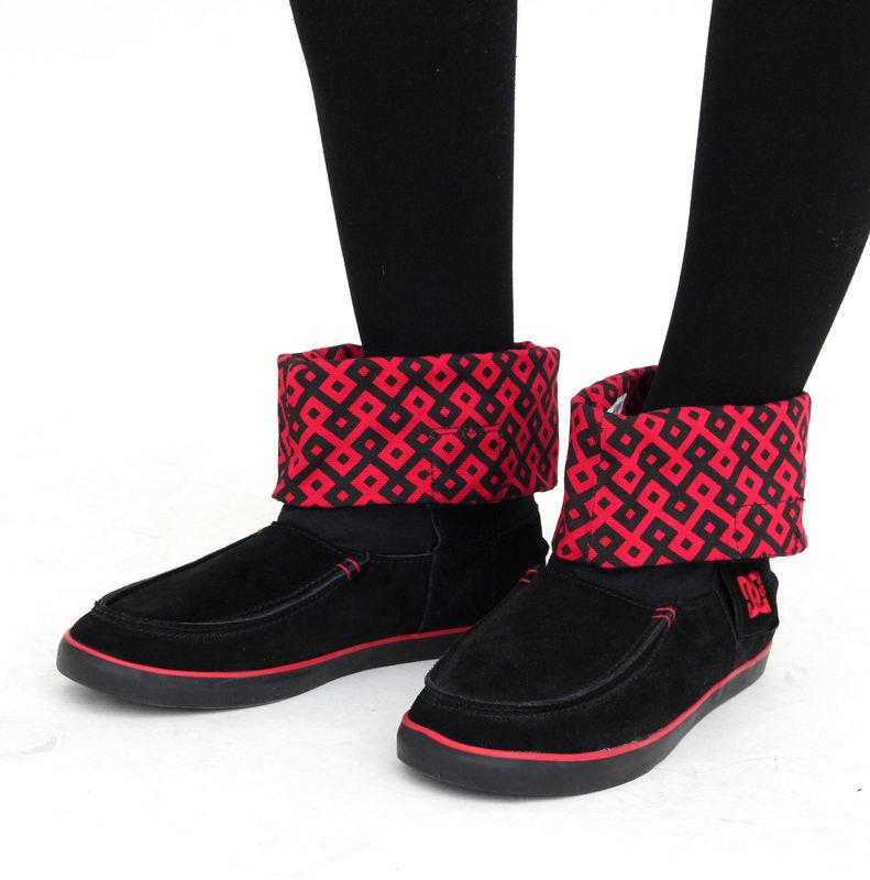 topánky dámske DC - Twilight - BLACK/ATHLETE RED