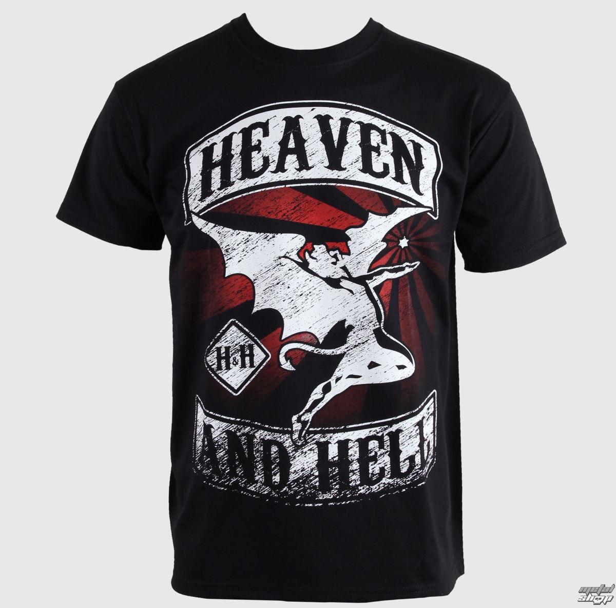 "tričko pánske HEAVEN & HELL ""CHOPPER"" 5619 - PLASTIC HEAD"