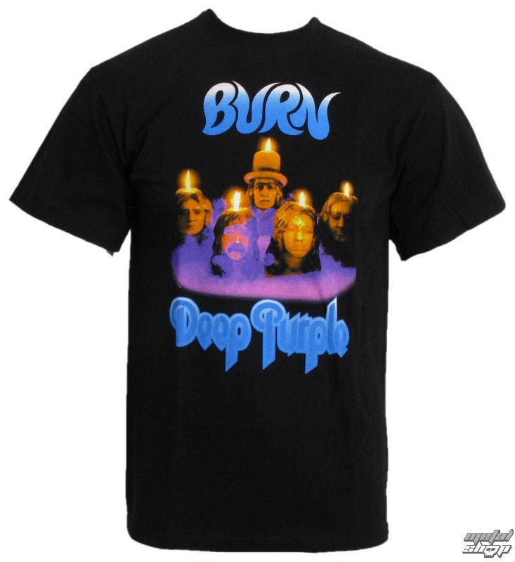 """tričko pánske DEEP PURPLE """"BURN"""" PLASTIC HEAD"""