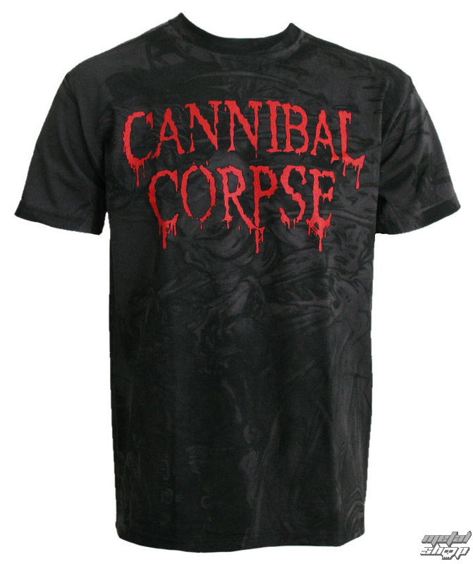 "tričko pánske CANNIBAL CORPSE ""EVISCERATION (ALL-OVER PRINT)"" PLASTIC HEAD"