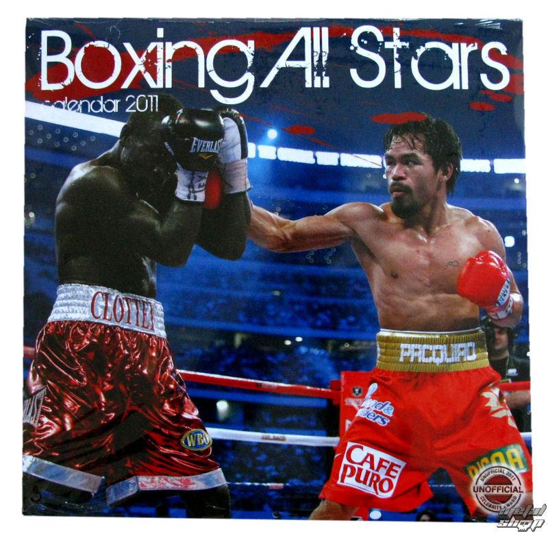 kalendár nástenný Boxing All Stars 2011