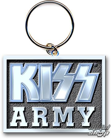 """kľúčenka (prívesok) KISS """"Army Block"""" ROCK OFF"""