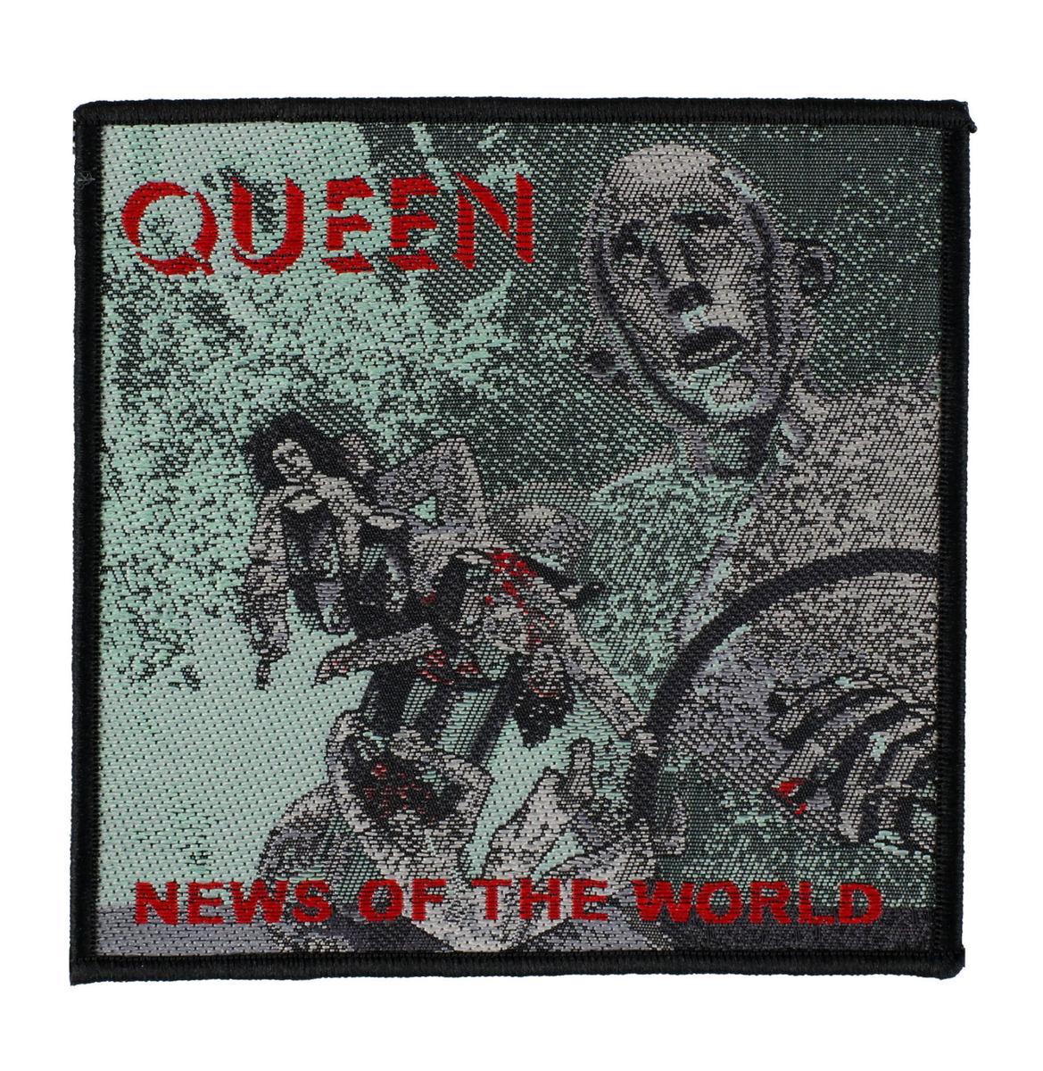 nášivka Queen - News Of The World - RAZAMATAZ - SPR2980
