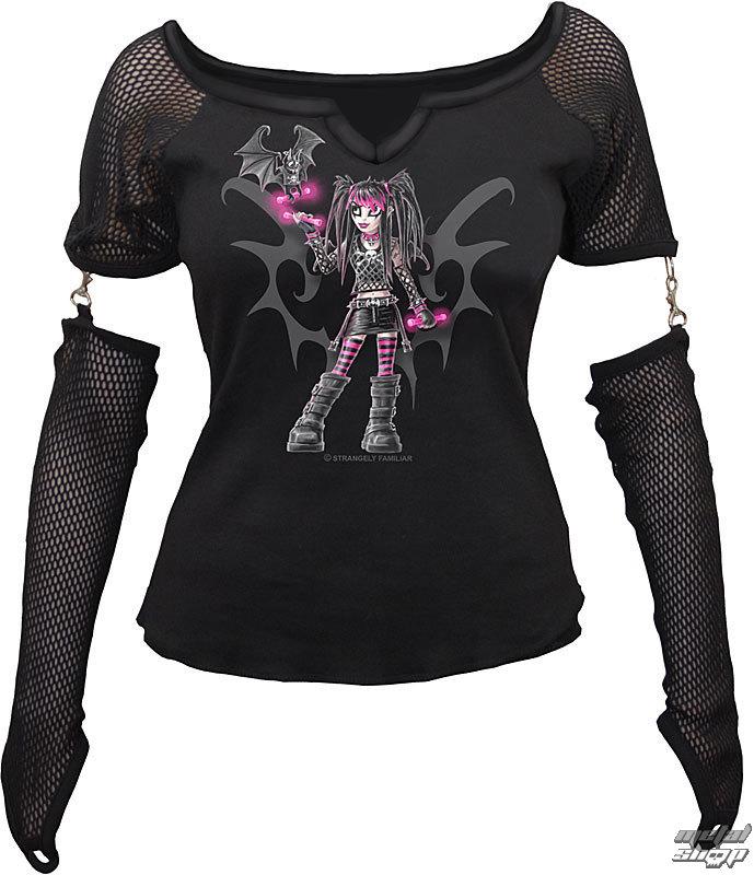 """tričko dámske s dlhým rukávom SPIRAL """"Magenta & Jinx"""" - SF 109170"""