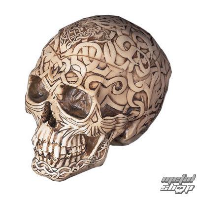 """krabička na drobnosti Lebka """"Celtic Skull Box"""" - PC2788"""