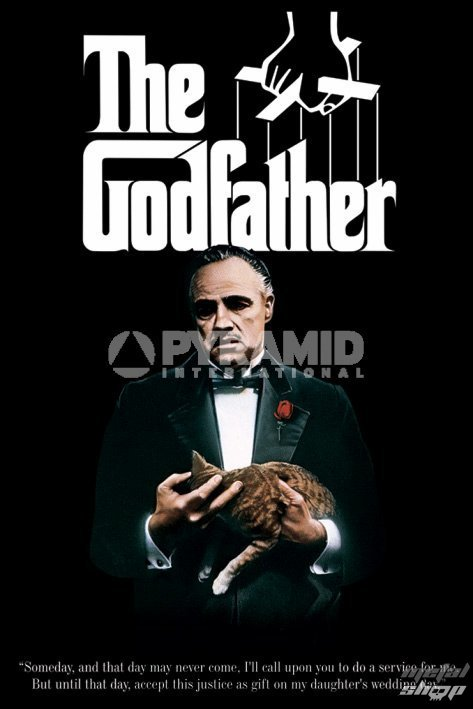 plagát The Godfather (Colour Cat) - PYRAMID Posters - PP31150