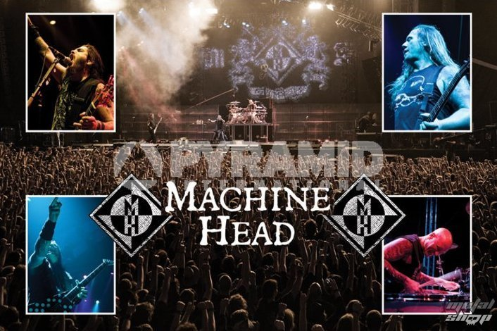 plagát Machine Head (Live) - PYRAMID Posters - PP32143