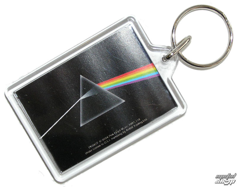 kľúčenka (prívesok) Pink Floyd - Dark Side Of The Moon - PYRAMID Posters - PK0407