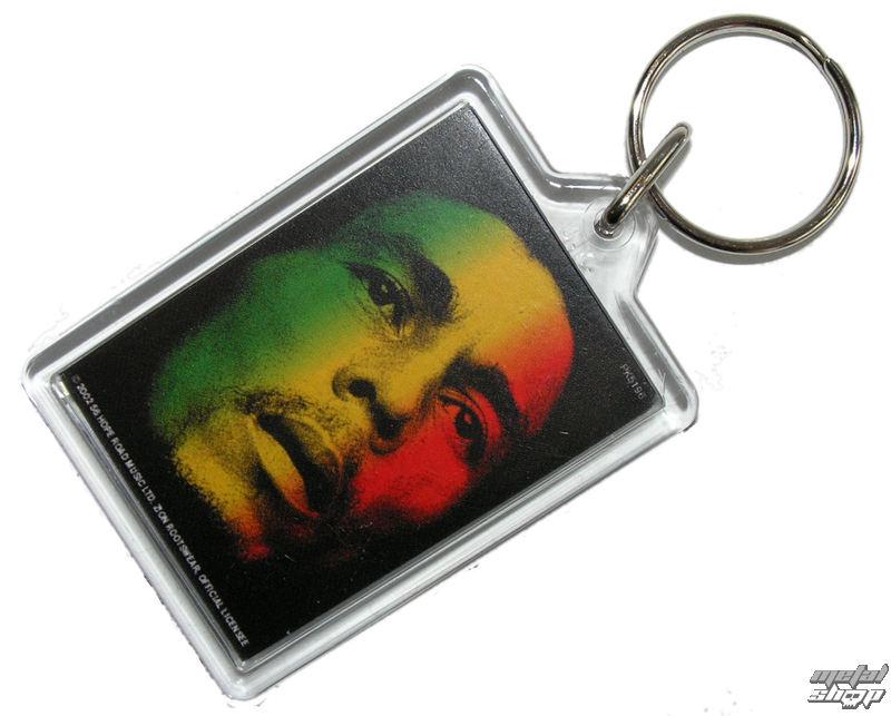 kľúčenka (prívesok) Bob Marley - Face - PYRAMID POSTERS - PK5196