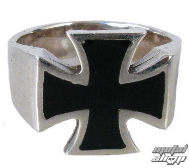 prsteň strieborný Cross - BR 2 - 14