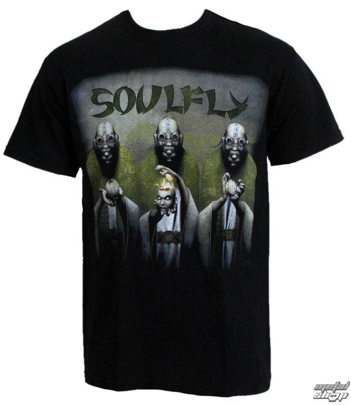 """tričko pánské RAZAMATAZ Soulfly """"Envy/Wrath/Sloth EUROPE 2010"""""""
