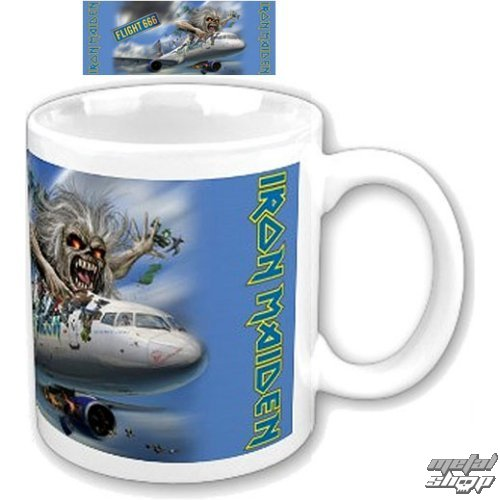 hrnček Iron Maiden - Flight 666 Boxed Mug - ROCK OFF - IMMUG05
