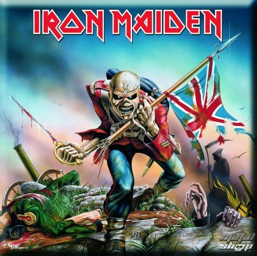 magnet Iron Maiden - The Trooper Fridge Magnet - ROCK OFF - IMMAG01