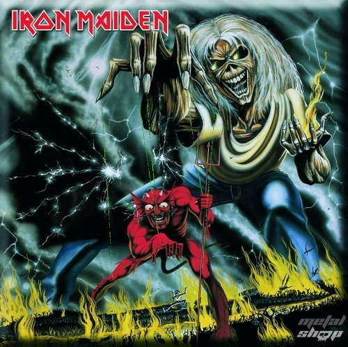 magnet Iron Maiden - Number Of The Beast Fridge Magnet - ROCK OFF - IMMAG03