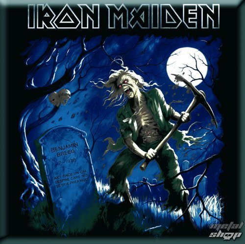 magnet Iron Maiden - Benjamin Breeg Fridge Magnet - ROCK OFF - IMMAG08