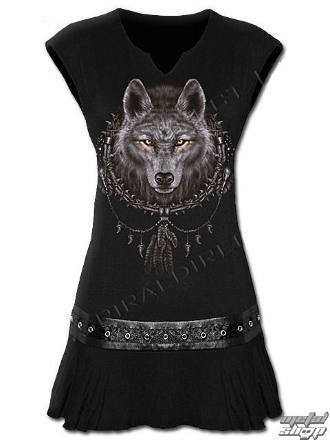 šaty dámske (top) SPIRAL - Wolf Dreams - TR 292255