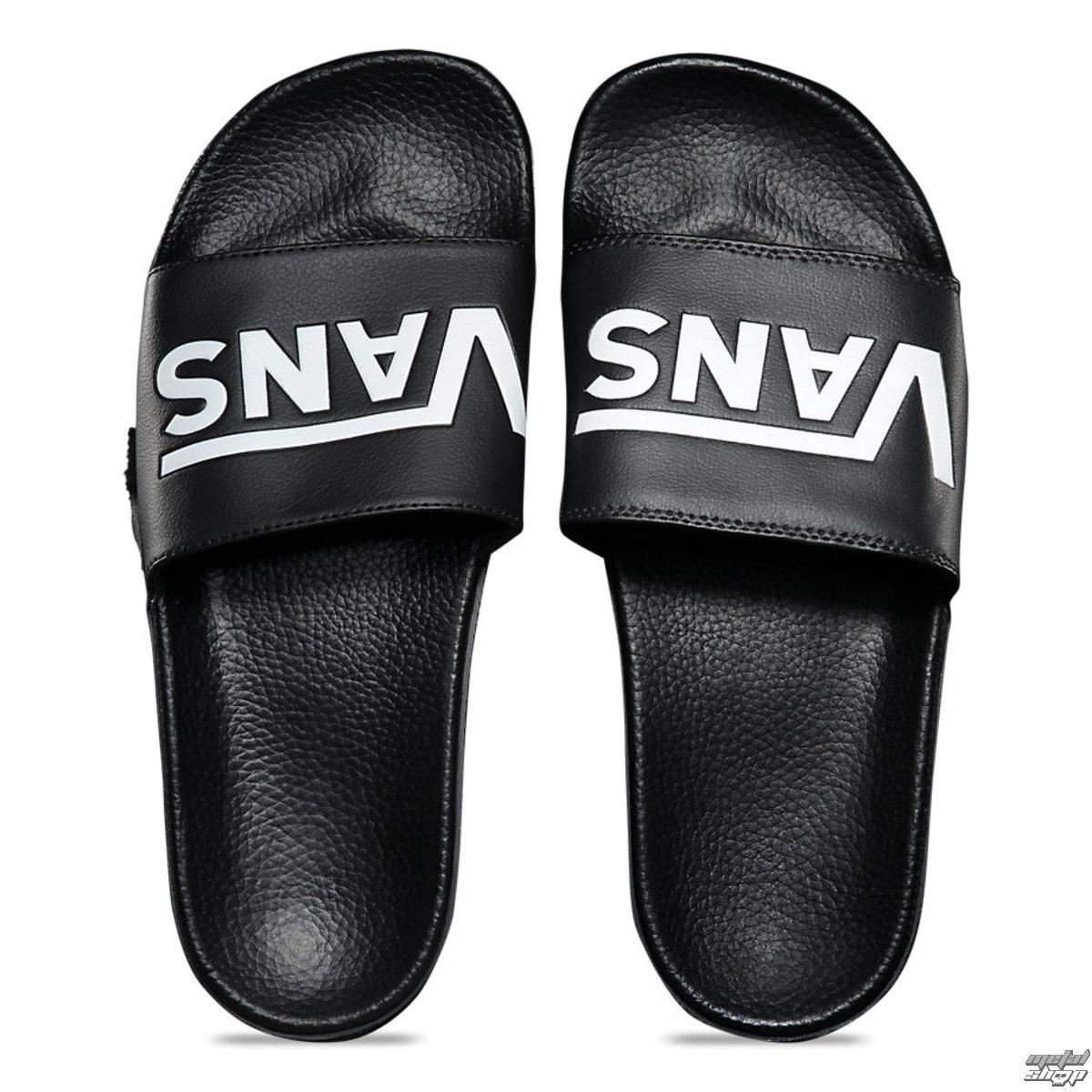 sandále unisex VANS - MN SLIDE-ON (VANS) BLACK - VN0004KIIX61