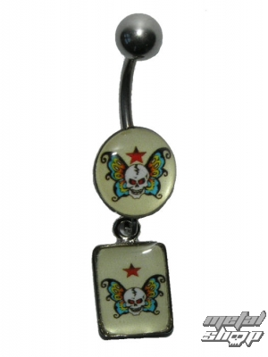 piercingový šperk LEBKA - 4PCS - 8 - MABR