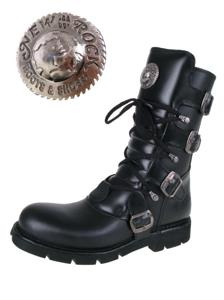 topánky NEW ROCK - Flat Classic Boot (1473-S1)