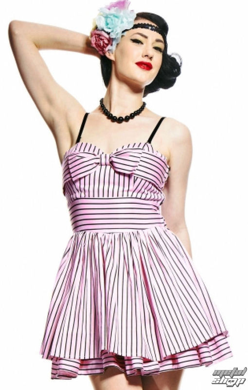 362ba3148ae9 šaty dámske HELL BUNNY - Lala Dress - Pink - 4085 - metalshop.sk