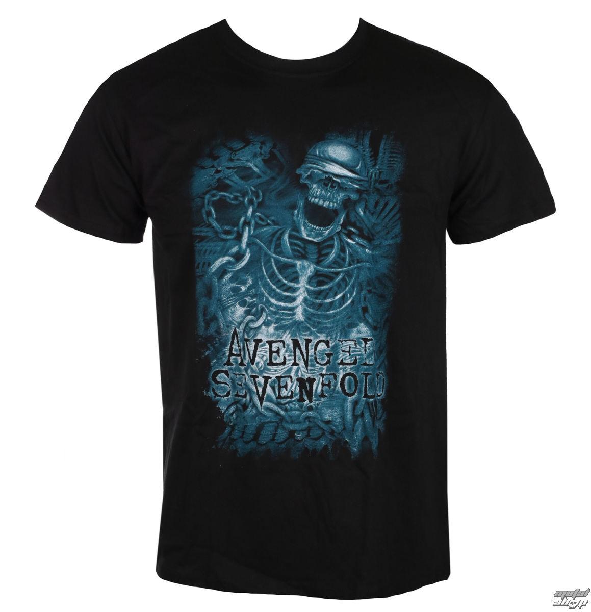 tričko pánske Avenged Sevenfold - Chainedskeleton