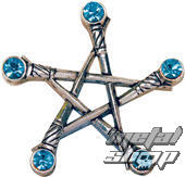 prívesok Pentagram of Swords - EASTGATE RESOURCE - PR1