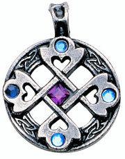 prívesok Celtic Cross Heart - EASTGATE RESOURCE - MA01