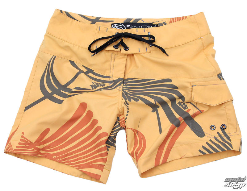 kraťasy dámske (plavky , kraťasy) FUNSTORM - Lyme 22 yellow