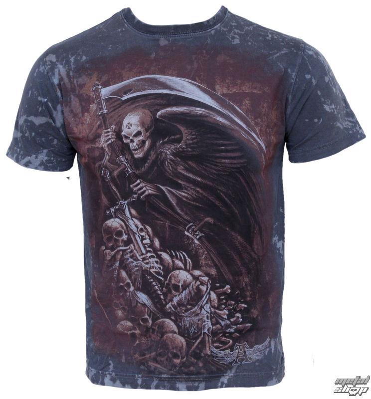 tričko pánske ALCHEMY GOTHIC - Mors Certa - 2013