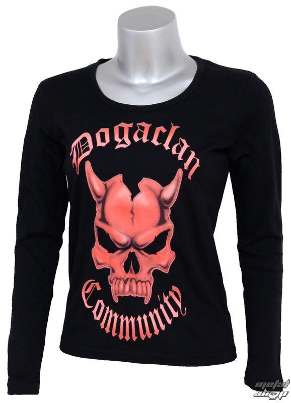 tričko dámske s dlhým rukávom Doga - Clan