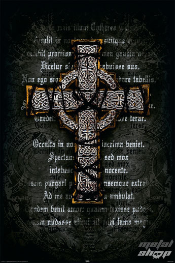 plagát Gothic Cross - Rolled - REINDERS 14907