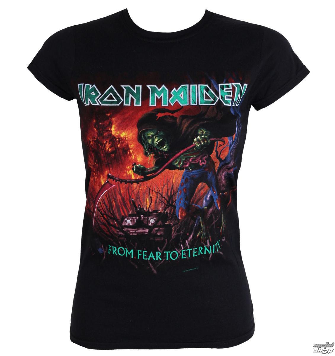 tričko dámske Iron Maiden - From Fear To Eternity - EMI - IMTEE20LB e118fef2be3