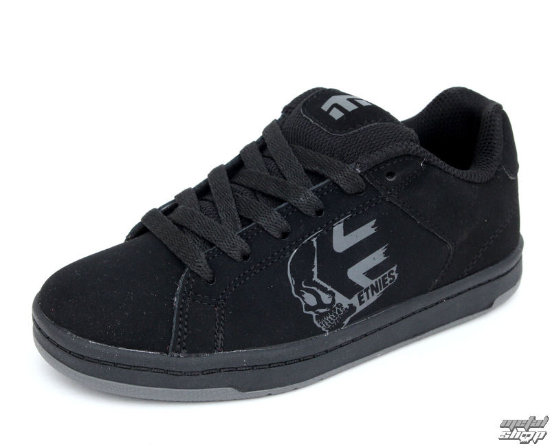 topánky detské ETNIES - Kids Wraith - BLACK-CHARCOAL