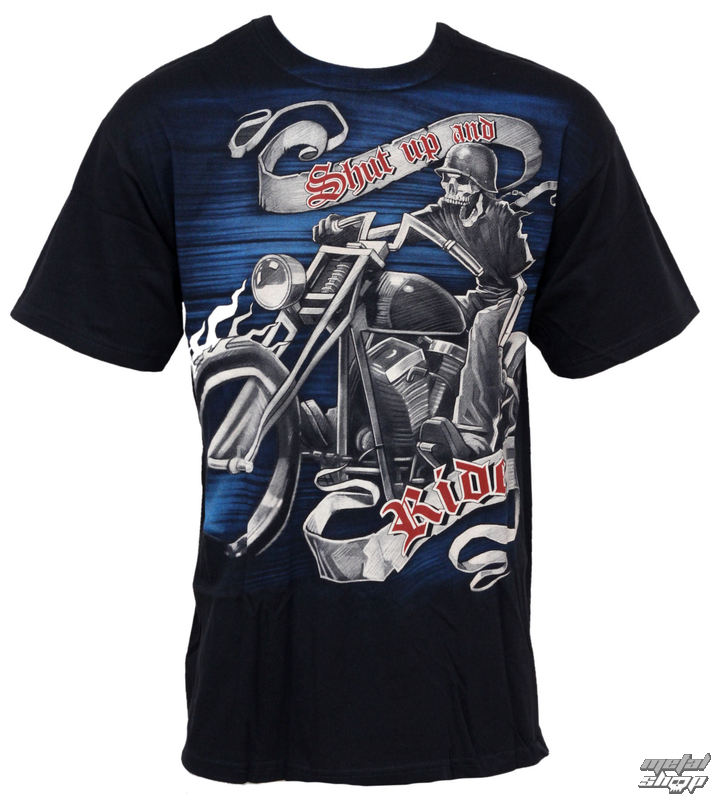 tričko pánske Hog Heaven - LIQUID BLUE - 31263