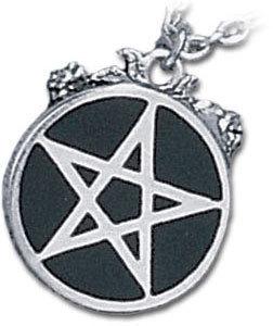 obojok Roseus Pentagram - ALCHEMY GOTHIC - P182