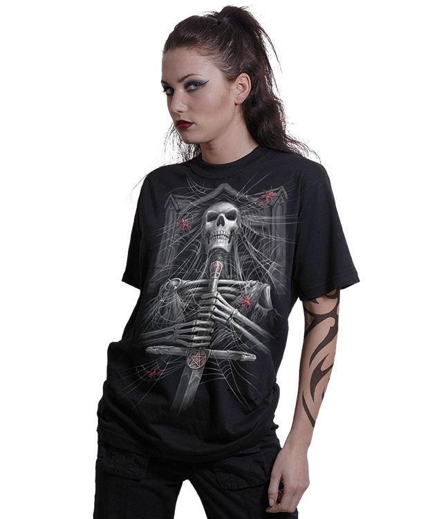 tričko pánske SPIRAL - Spider Crypt - DT201600
