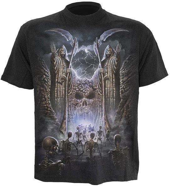 tričko pánske SPIRAL - Gates Of Destiny - LG172600