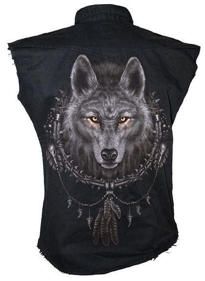 košele pánska SPIRAL - Wolf Dreams - TR292880