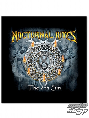 "nálepka Nocturnal Rites ""The 8th Sign"" - 565088 - ART-WORX"